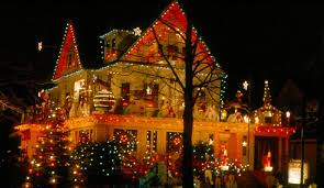1960 s christmas tree lights 1960s arthur s house of beauty the village of ridgewood new