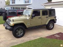 commando green jeep lifted show me 2 5 inch lift with 33s page 2