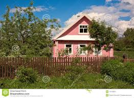 Small Country Houses by Russian Small Country House Stock Photography Image 31919402