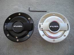 dodge challenger fuel billet challenger style fuel door