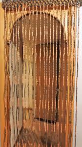 Hippie Beaded Door Curtains Vintage Wood Curtain Door Beads Beaded Curtains Beaded Door