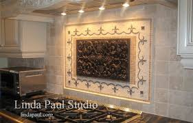Designer Backsplash Designer Tiles For Kitchen Backsplash Kitchen - Kitchen medallion backsplash
