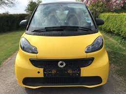 2013 smart fortwo city flame ltd edition mhd auto with only 7457