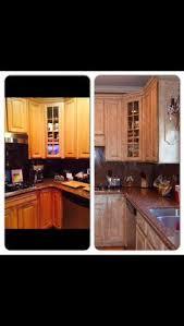 Rustoleum Kitchen Cabinet Transformation Kit Rust Oleum Cabinet Transformation Before And After Home