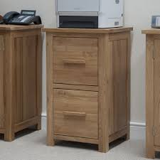 mission oak file cabinet with 2 drawer with low leg for small home