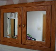 recessed wood medicine cabinet unfinished oak medicine cabinet medicine cabinets remarkable solid