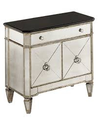 marais mirrored small nightstand chest furniture macy u0027s