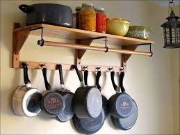 Kitchen Pot Hanger Ideas Cabinet Pot Rack Pot Rack Over Island