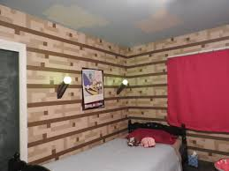 Minecraft Bedroom Ideas Minecraft Kids Room Wall Decor Ideas Home Design Ideas