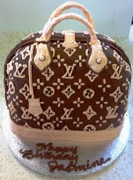 Louis Vuitton Cake Decorations Purse Inspired Birthday Cake Ideas For Women Crafty Morning