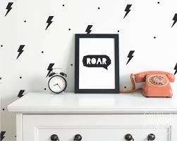 lightning bolt polka dots wall decals vinyl stickers for boys or lightning bolt polka dots wall decals vinyl stickers for boys or girls nursery or kids room 10x6cm id 1430