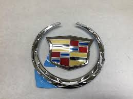 cadillac cts emblem buy a genuine gm 2008 2011 cadillac cts front grille crest and