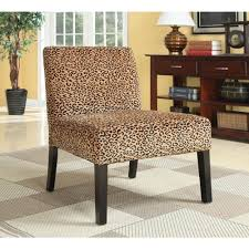 Animal Print Accent Chair Plush Oversized Leopard Print Accent Chair Free Shipping On