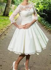 short wedding dresses ebay