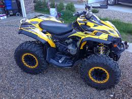 mudding four wheelers sask trail riders atv review can am renegade 800