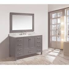 design element dec082d g london gray single basin bathroom vanity