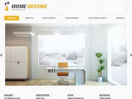 Home Decorating Website 85 Best Interior Design Wordpress Themes