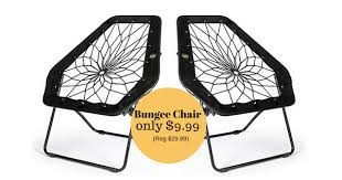 Bungee Chair Bunjo Oversized Bungee Hex Chair Only 9 99 Reg 29 Mylitter