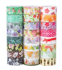 Washi Tape What Is It Amazon Com Washi Masking Tape Set Of 24 Decorative Masking Tape