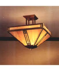 12 Inch Flush Mount Ceiling Light Arroyo Craftsman Pih 12 Prairie 12 Inch Wide Semi Flush Mount