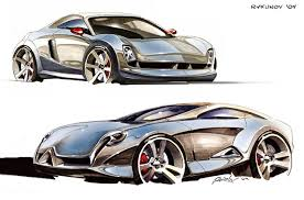 concept car sketch 7 by rykunov on deviantart