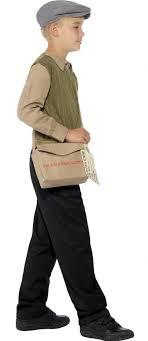boy costumes child s 1940s evacuee boy costume candy apple costumes newsboy