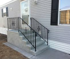Home Handrails Everything You Need To Know About Mobile Home Steps