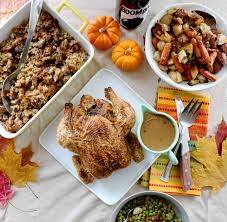 a blasphemous thanksgiving my with food