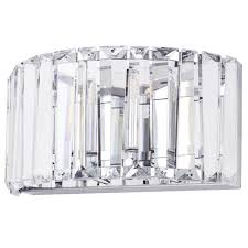 marquis by waterford foyle led bathroom wall light chrome from