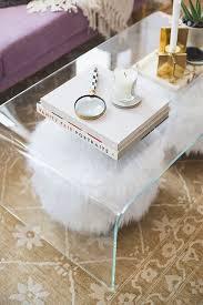 clear acrylic coffee table modrest newark coffee table lucite coffee tables clear coffee