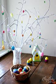 Easy To Make Decorations For Easter by How To Make An Easter Tree Centerpiece Rhythms Of Play