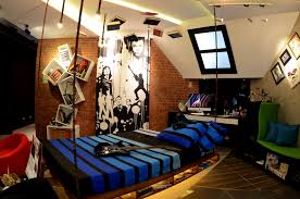 amusing boys teenage attic bedroom inspiring design featuring