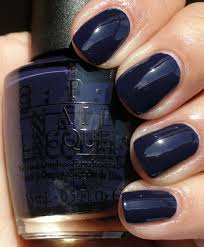 the perfect shade of midnight blue opi road house blues nail