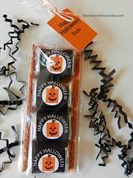 Halloween Party Favors Ideas by It U0027s Written On The Wall Halloween Treat Candy Wraps For Teacher