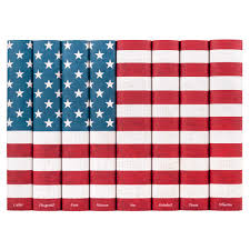 American Flag Meaning Historical Documents Decorative Book Collection Juniper Books