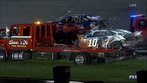 monster truck show amarillo texas video nascar wreck ends with aric almirola taken off on a
