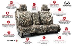 Realtree Bench Seat Covers Genuine Realtree Camo Custom Seat Covers