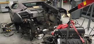 lego lamborghini gallardo lamborghini gallardo v10 engine removal timelapse video is overly