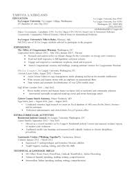 Chronological Resume Sample by Reverse Chronological Resume Resume For Your Job Application