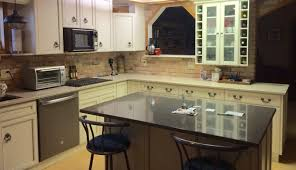 new kitchen freshens interior of older rural home