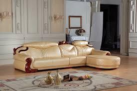ensemble canape cuir européenne canapé en cuir ensemble salon canapé chine l forme coin