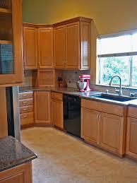 elegant black corner cabinet for kitchen gl kitchen design