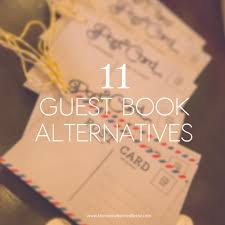 alternative guest book ideas sunday s most loved unique guest book ideas the overwhelmed