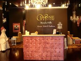 Bridal Shop Winnie Couture Flagship Bridal Salon Middle Counter The Beverly