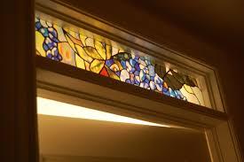 Transom Window Above Door Door Transom Window U0026 Chic Home Features A Glossy Black Front Door