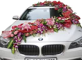 car decorations bmw decorations with flowers gift