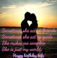 Loving Happy Birthday Quotes by Happy Birthday Wishes For Wife Quotes Images And Wishes Happy