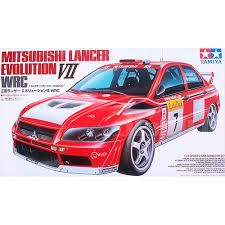 mitsubishi evo rally car ohs tamiya 24257 1 24 lancer evolution vii evo7 rally car assembly