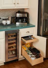 Kitchen Cabinets Spice Rack Pull Out Kitchen Pull Out Shelves U0026 Custom Shelves Shelfgenie