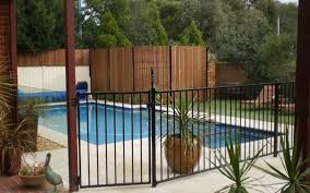 fences wood privacy fence ornamental security fence pool